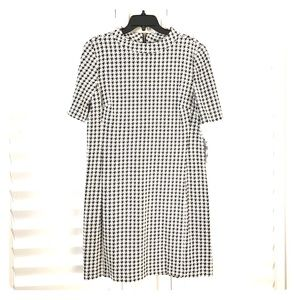 New houndstooth dress